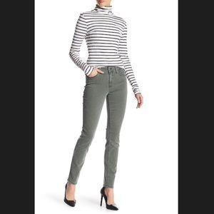 NYDJ Alina Legging Skinny Jeans Sage Olive Green